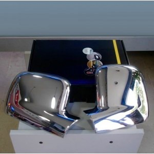 VW Transporter T5 Chrome Mirror Covers 2004 - 2010