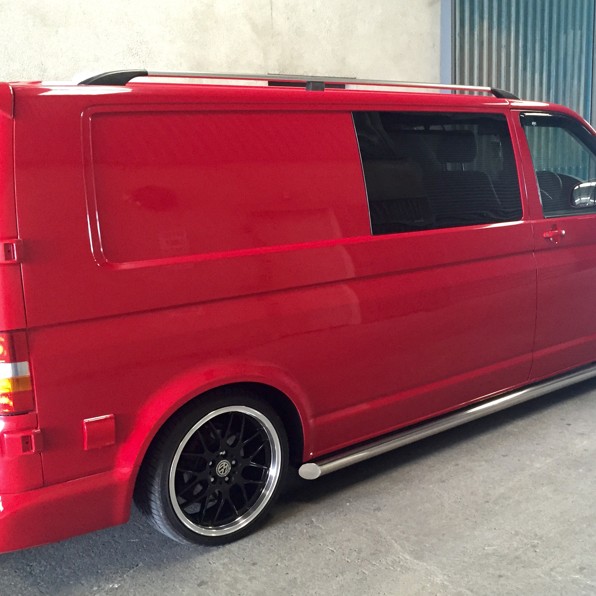VW Transporter T5 Roof Rails LWB