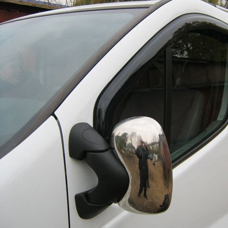 Opel Vivaro Chrome Mirror Cover 2004 - 2014