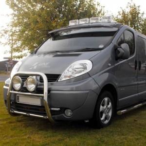Renault Trafic A Bar / Bull Bar 2003 - 2014