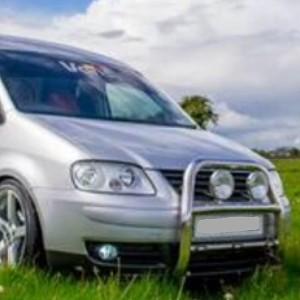 VW Caddy Chrome Stainless Steel Bull Bar/A Bar