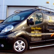 Renault Trafic LWB Stainless Steel Side Bars