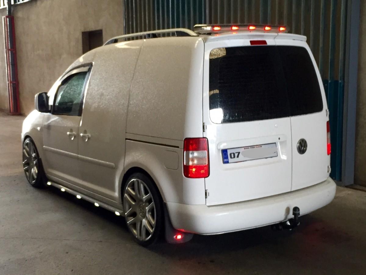 Vw Caddy Chrome Roof Light Bar 5 Leds Imob Auto