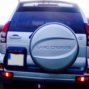 landcruiser spare wheel cover