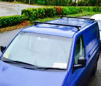 Vw Transporter Roof Rack Bars T5 Models Imob Auto