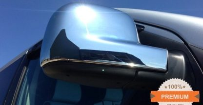 VW Transporter T5 Chrome Mirror Covers 2004 - 2010