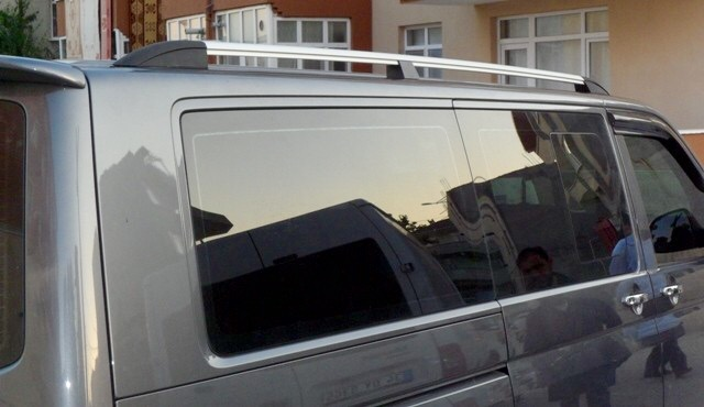 VW Transporter T5 Roof Rails SWB