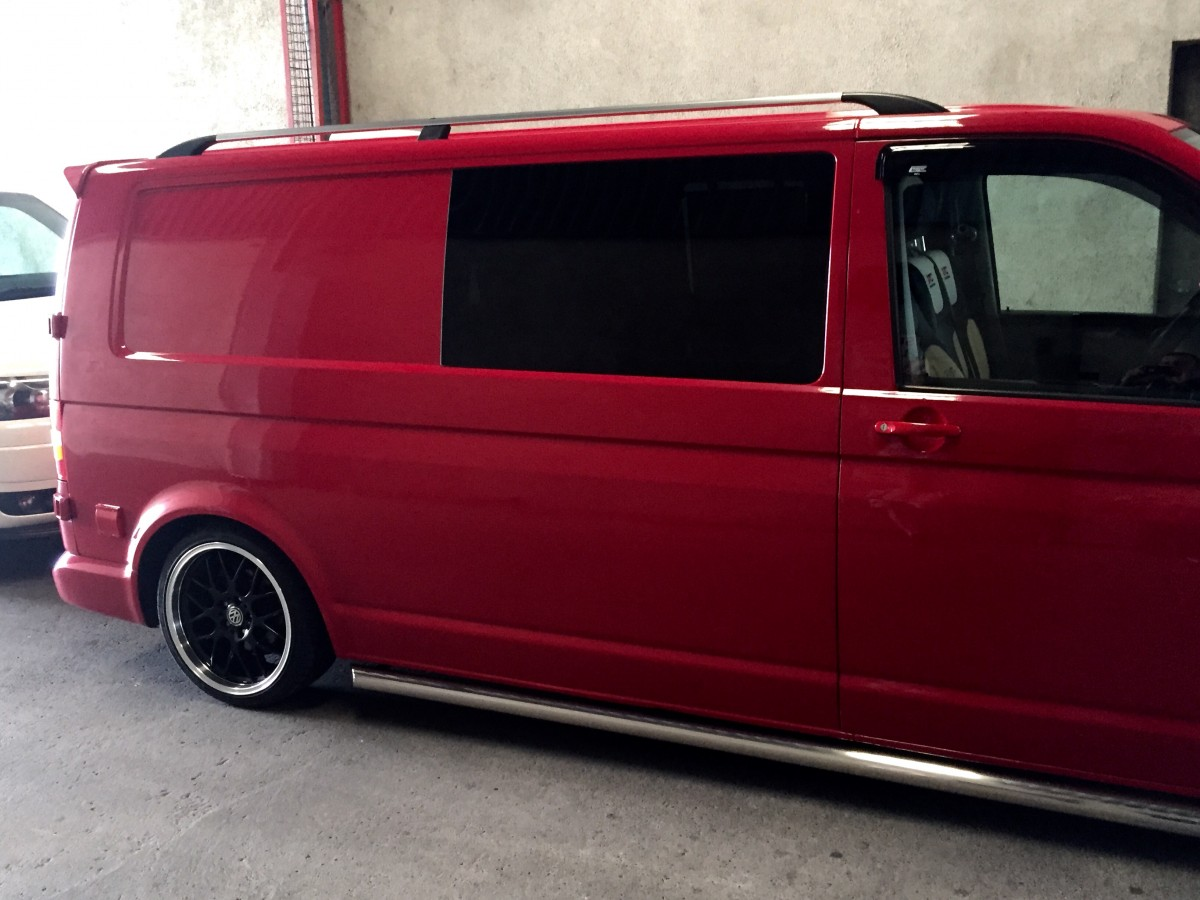 vw transporter t5 roof rails swb imob auto. Black Bedroom Furniture Sets. Home Design Ideas