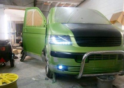 VW Transporter T5 Fog Lamps & Bumper Trims 2004 - 2010