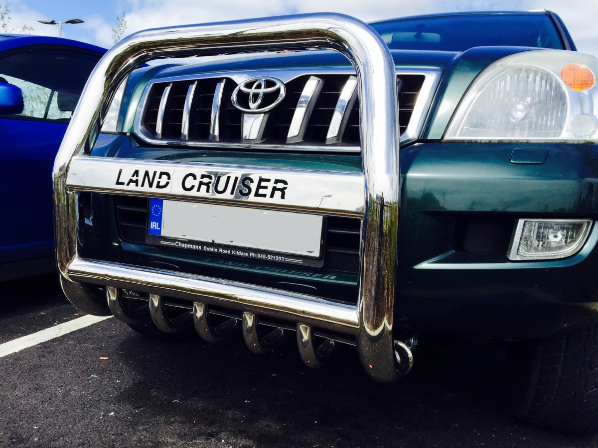 Toyota Land Cruiser A Bar / Bullbar 2003 - 2010