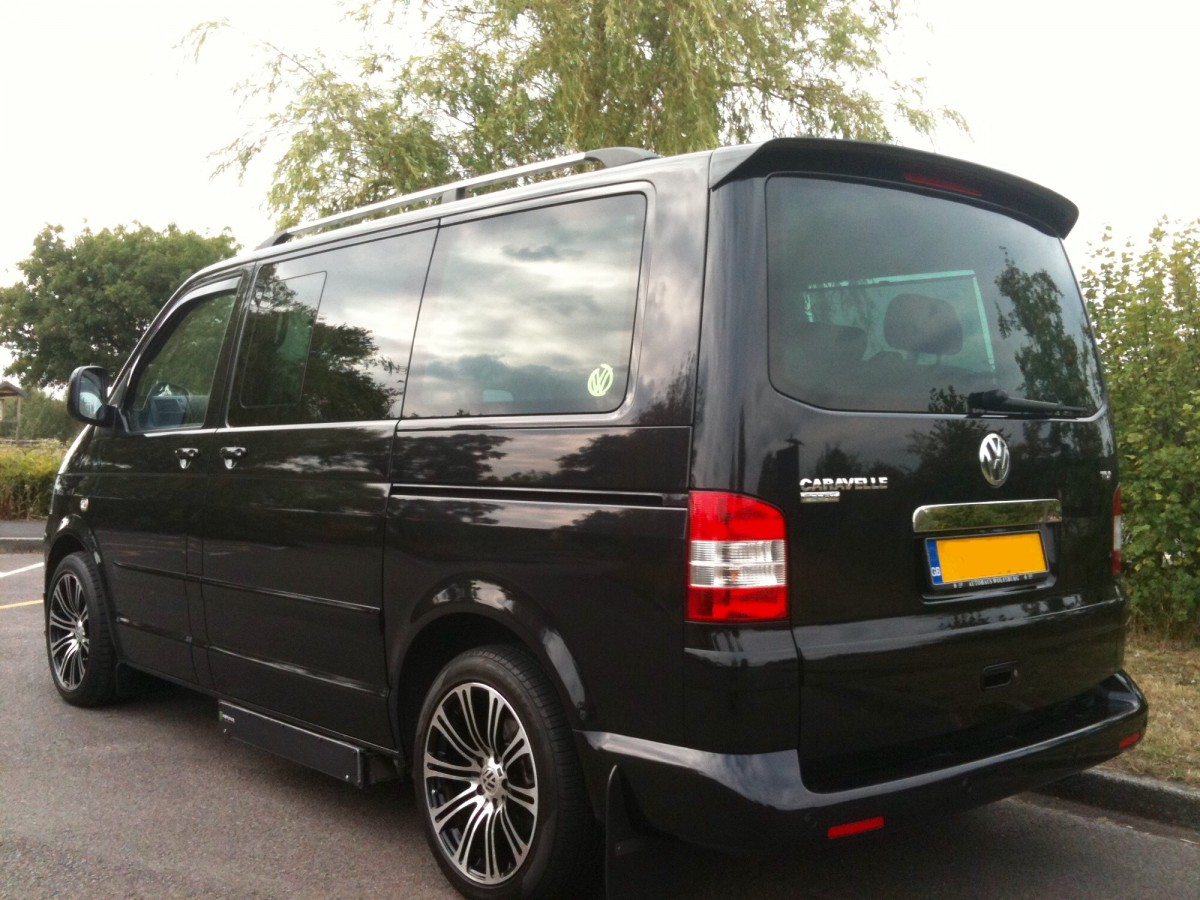 vw transporter t5 sportline spoiler 2005 2015 single. Black Bedroom Furniture Sets. Home Design Ideas