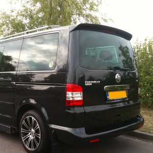 VW Transporter T5 Sportline Spoiler 2005 - 2015 (Single Door)
