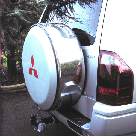 Mitsubishi Pajero / Shogun Spare Wheel Cover