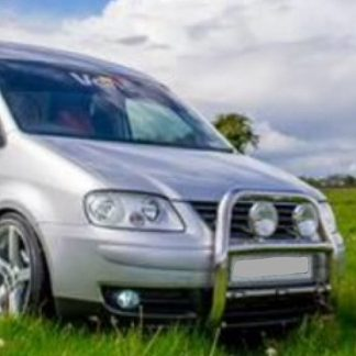 VW Caddy Chrome Stainless Steel Bull Bar/A Bar
