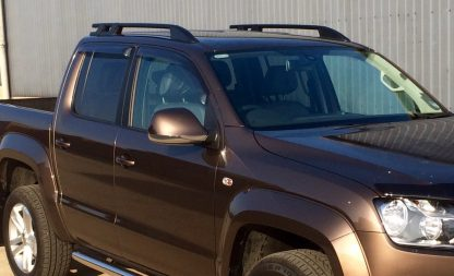 VW Amarok Window Deflectors Visors