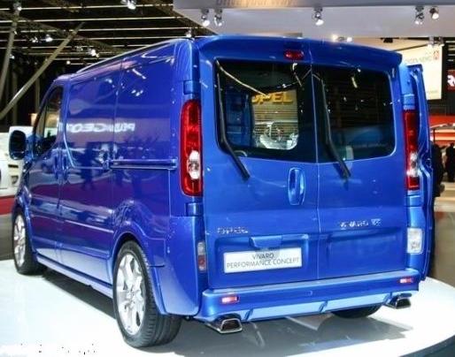 Renault Trafic Roof Spoiler Imob Auto