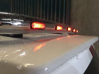Ford Transit MK8 Chrome Roof Light Bar 2014 onwards