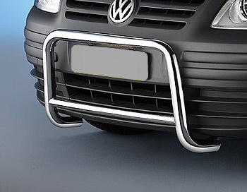 VW Caddy Chrome Stainless Steel Nudge Bar/A Bar