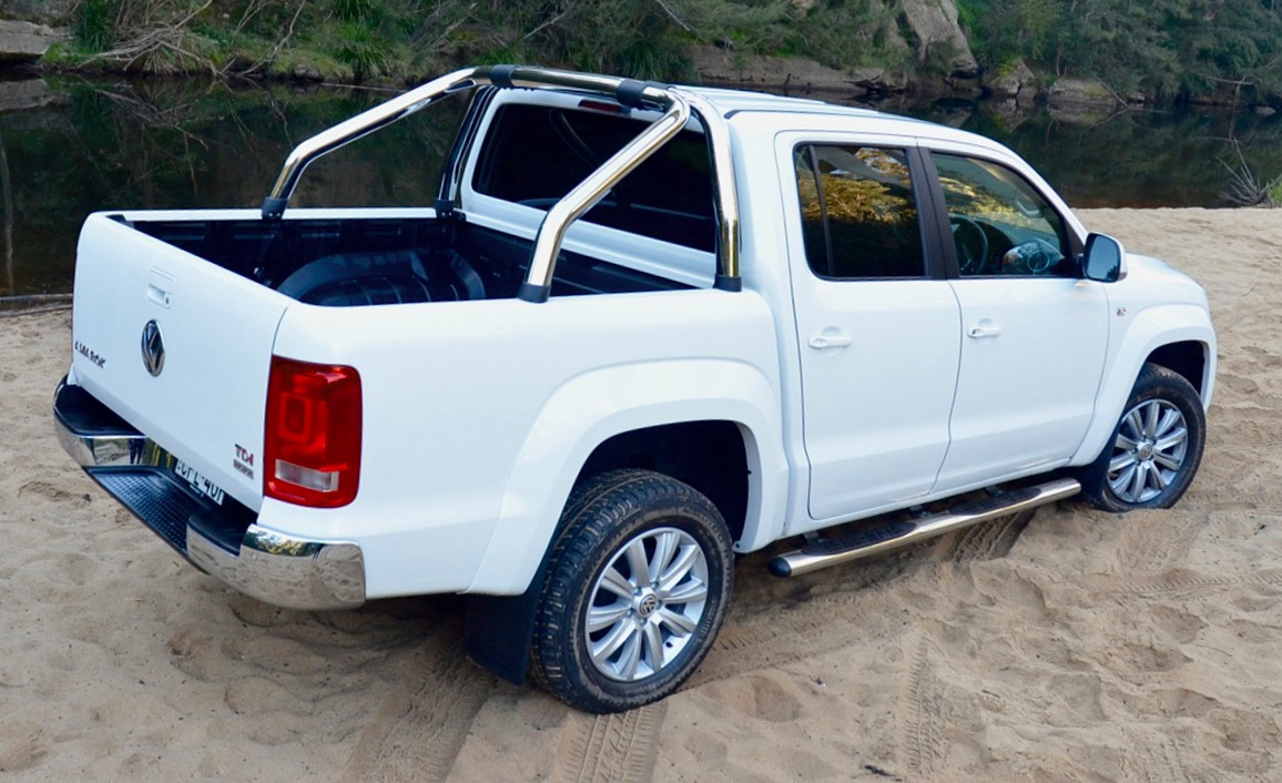 VW Amarok Side Bar Steps