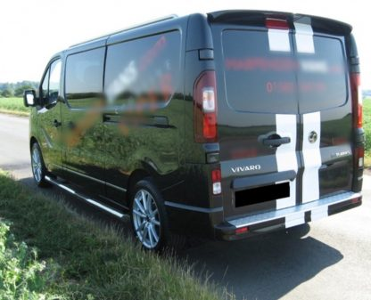 Nissan Primastar SWB Side Bars 2014 onwards