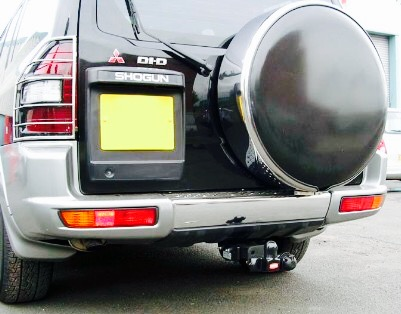 Mitsubishi Pajero / Shogun Spare Wheel Cover (Black)