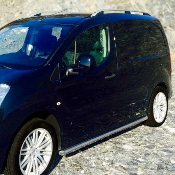 Citroen Berlingo Stainless Steel Side Bars 2008 - 2015