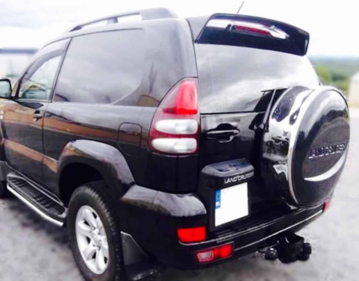 Toyota Land Cruiser Tte Roof Spoiler Imob Auto